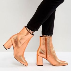 NWOT- ASOS ANKLE BOOTS
